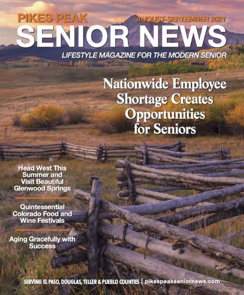 Pikes Peak Senior News Magazine - August and September 2021